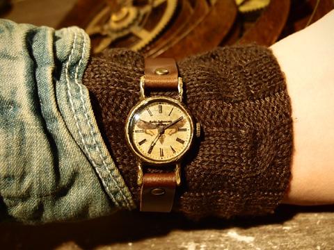メンガタスズメの腕時計 Classic Wristwatch Acherontia atropos SS ¥16,660
