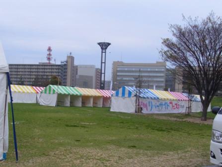 紫川リバーサイドフェスタ準備2014