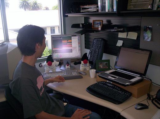 SUN本社 川口さんのオフィス