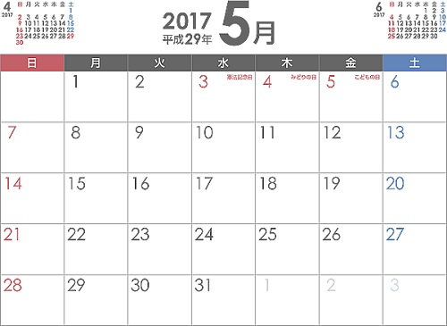 2017年5月に投稿した記事まとめ!