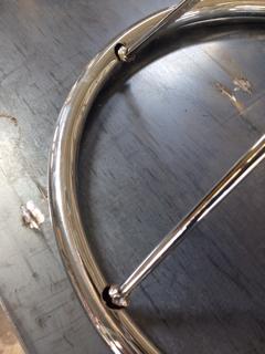 椅子の溶接修理