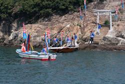 鯛網/大漁祈願(弁天島にて)