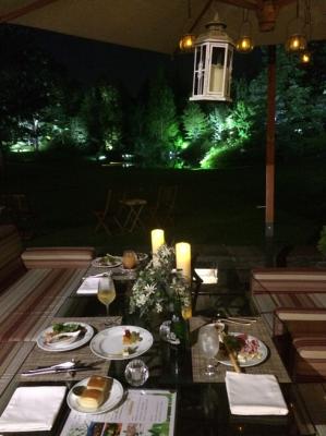 ガーデンディナー