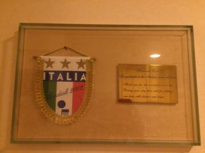 イタリア代表宿泊