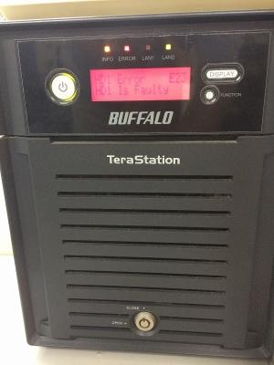 Tera Station エラー 姫路 ハードディスク