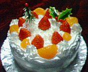 クリスマスケーキ☆2005年