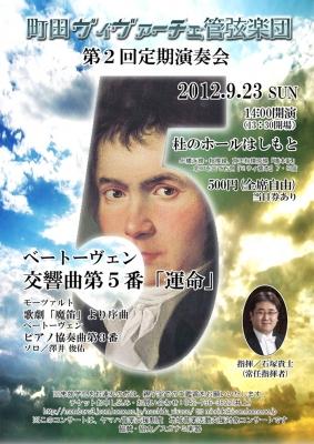 町田ヴィヴァーチェ第二回定期演奏会
