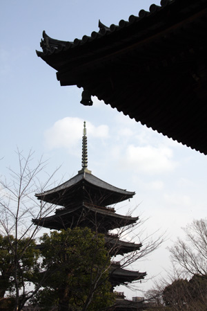 京都 東寺の五重塔