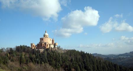 2007年12月 ボローニャのサン・ルーカ聖堂