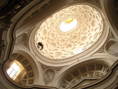 2008年5月 ローマ〜サン・カルロ・アッレ・クァットロ・フォンターネ教会