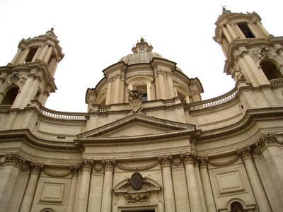 ローマ サンタニェーゼ・イン・アゴーネ教会