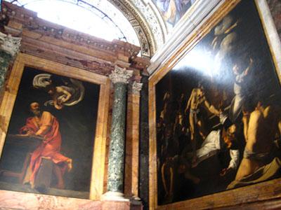 ローマ サン・ルイージ・デイ・フランチェージ教会