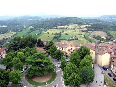 POPPI CASTELLOからの眺め