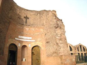 ローマ サンタ・マリア・デッリ・アンジェリ教会