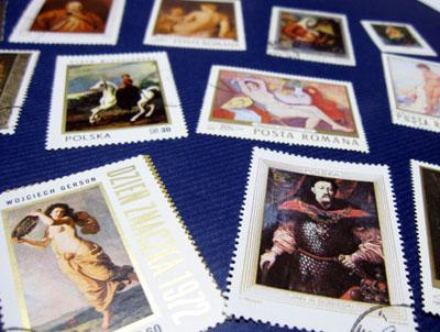 ヨーロッパの古切手