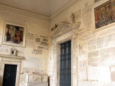ローマ サンタ・マリア・イン・トラステヴェレ教会