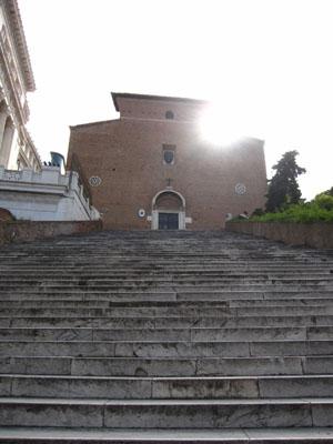 ローマ アラコエリ教会