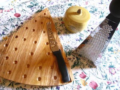 チーズカットボード