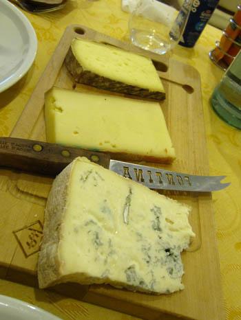 アオスタのチーズ