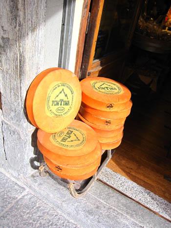 アオスタのチーズ フォンティーナ