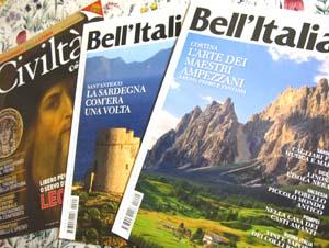 イタリアの雑誌 ベリタリア