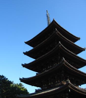 奈良・興福寺 五重塔