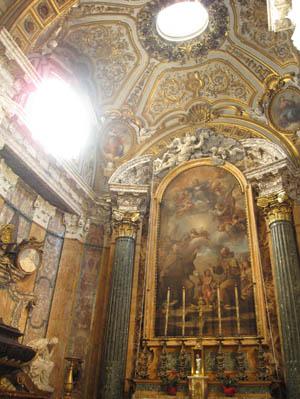 サン・フランチェスコ・ア・リーパ教会 礼拝堂