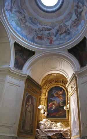 サン・フランチェスコ・ア・リーパ教会 アルティエーリ礼拝堂