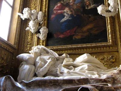 サン・フランチェスコ・ア・リーパ教会『福者ルドヴィーカ・アルベルトーニ』
