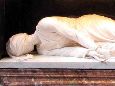 サンタ・チェチリア・イン・トラステヴェレ教会 『聖女チェチリア』ステーファノ・マデルノ