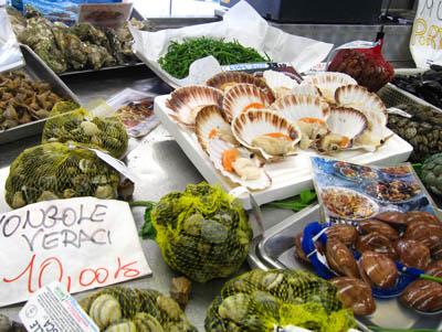 ラ・スペツィアの市場