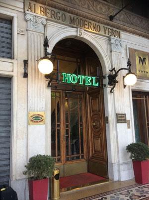 GENOVA HOTEL MODERNO VERDI