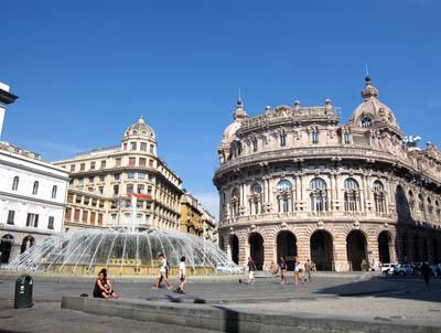 ジェノヴァ・フェッラリ広場