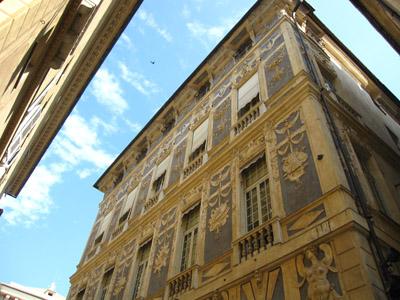 ジェノヴァ ストラーダ・ヌォーヴァの宮殿
