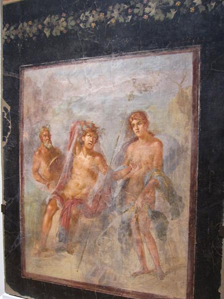 ポンペイの壁画展