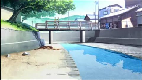 アニメ1話の橋