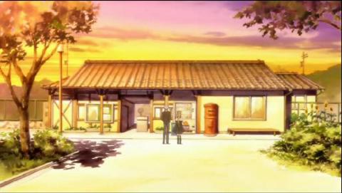 美凪の駅舎