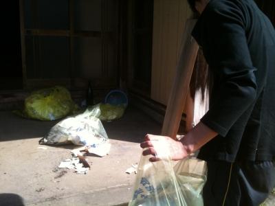 生ゴミ掃除
