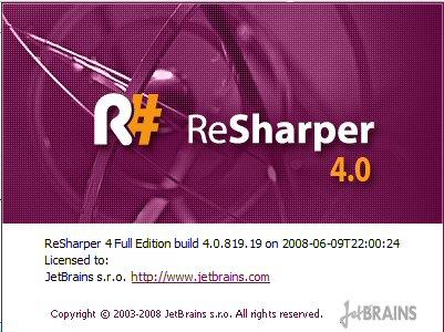 Resherper4.0