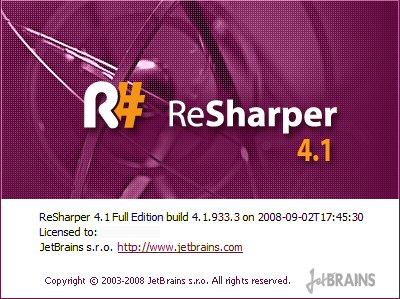 Resherper4.1