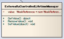 ExternallyControlledLifetimeManager