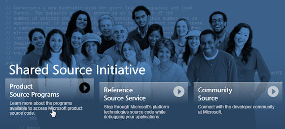 Shared Source Initiative