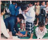 岐阜県瑞浪幼稚園 講演会、子供の足と靴と健康 正しい靴選び