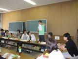 岐阜県瑞浪市商工会議所婦人部で講演会。シューフィッターによる足に合った正しい靴選びで健康に歩く。自分の足を知る。サイズを知る。