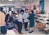 外反母趾にならないための靴選び。岐阜県瑞浪市、三喜屋靴店でテーピングの講演
