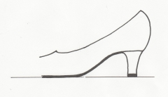 パンプス(革靴)で立ち仕事、足が痛い。オーダーメイド靴で対応できます。足を締めつけ、外反母趾やハンマートウ、タコ、ウオノメ、中足骨骨頭痛など、足のトラブルをまねきやすい靴です。 それにとどまらず、ヒザ痛、腰痛、頭痛までも引き起こしかねません。岐阜のシューフィッターに相談ください。愛知、三重、長野、高山、郡上、春日井、瀬戸、多治見、可児、瑞浪、恵那、中津川、の足と靴でお悩みの方のお役にたちます。