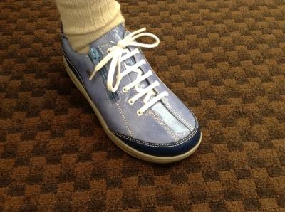 履いてびっくり、指先がのびのび疲れない靴です。可児市68歳Yさん。喜びの声