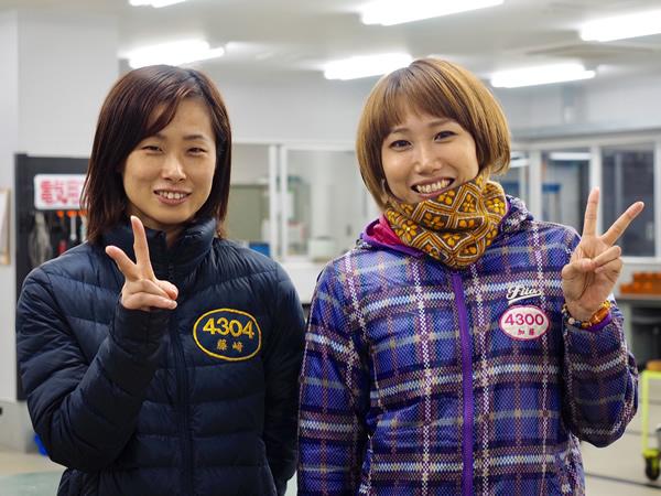 6・藤崎小百合選手 加藤綾選手.jpg