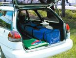 かんたんテント普通乗用車に収納可能