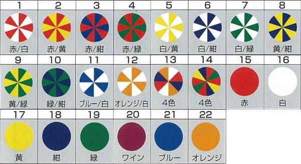 パラソルカラーパターン